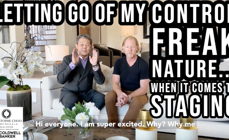 Learning to Let Go of My Control Freak Nature.... When it Comes to Staging - Christophe Choo